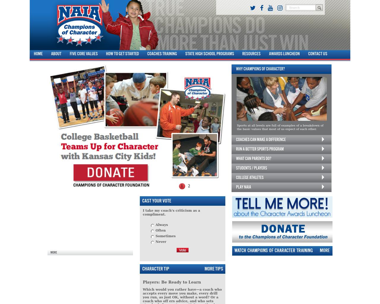 NAIA-Champions-of-Character-Advertising-Reviews-Pricing