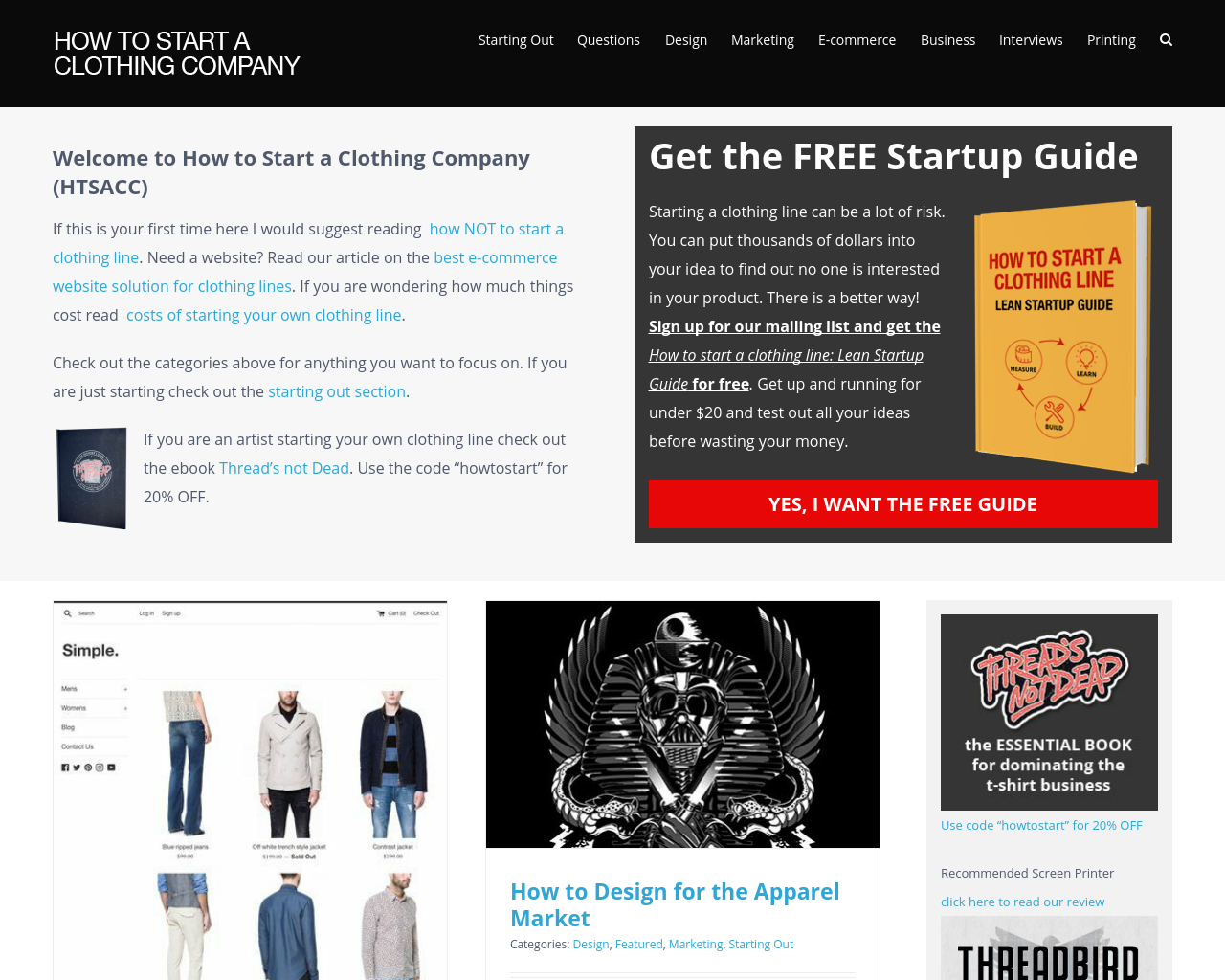 How-To-Start-A-Clothing-Company-Advertising-Reviews-Pricing