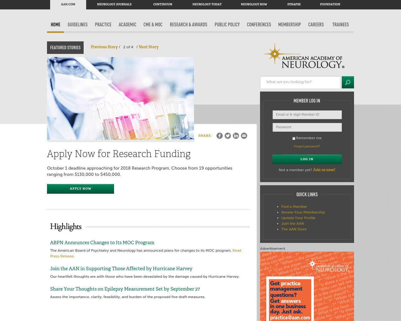 American-Academy-of-Neurology-Advertising-Reviews-Pricing