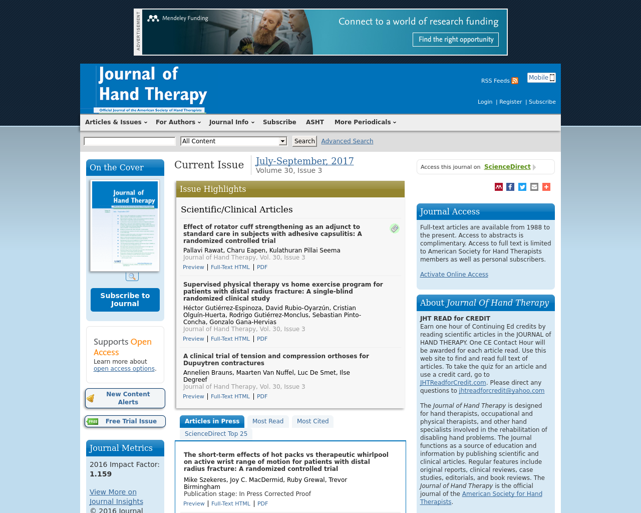 Journal-Of-Hand-Therapy-Advertising-Reviews-Pricing
