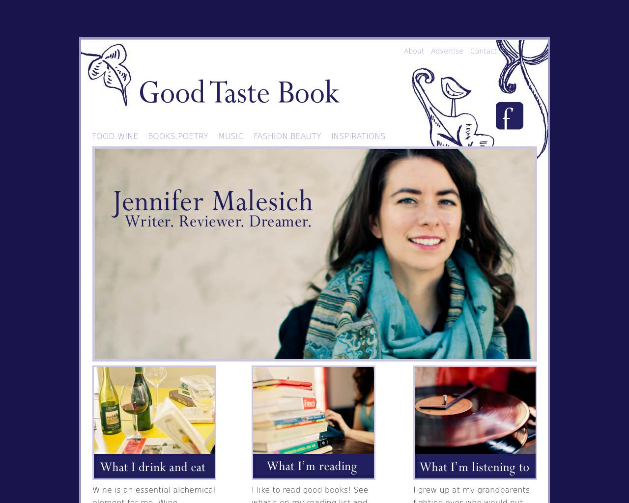 Good-Taste-Book-Advertising-Reviews-Pricing