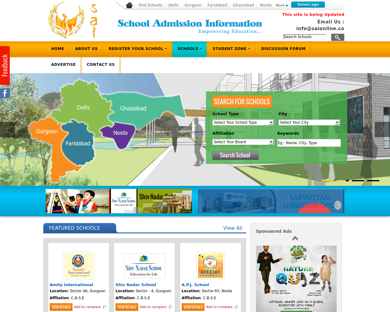 School-Admission-Information-Advertising-Reviews-Pricing