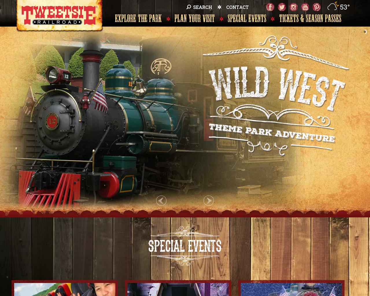 Tweetsie-Railroad-Advertising-Reviews-Pricing