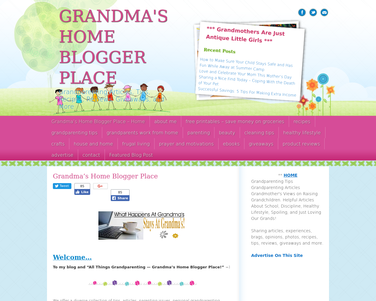 Grandma's-Home-Blogger's-Place-Advertising-Reviews-Pricing