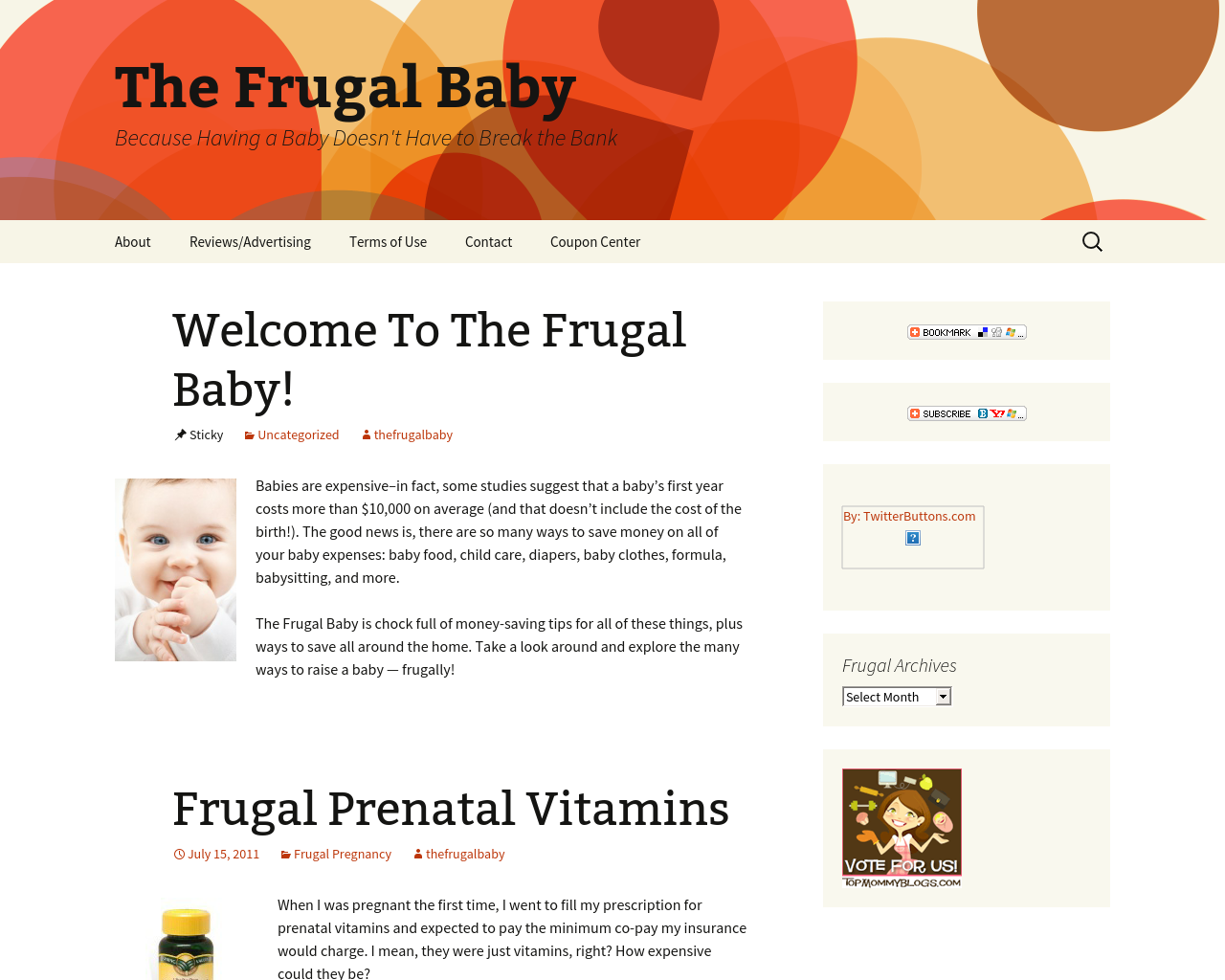 The-Frugal-Baby-Advertising-Reviews-Pricing