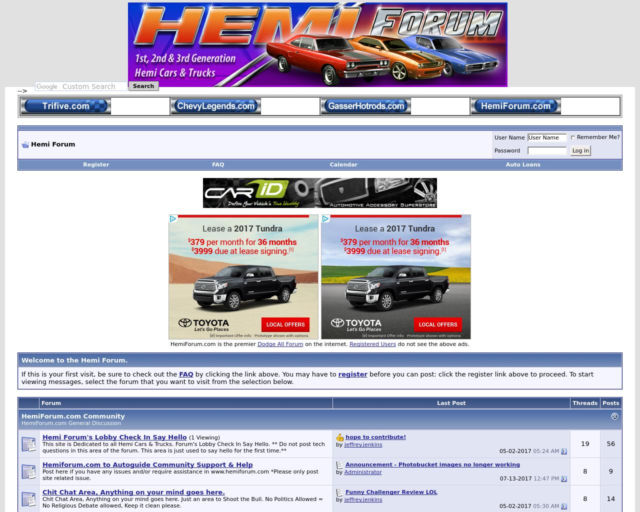 Hemi-Forum-Advertising-Reviews-Pricing
