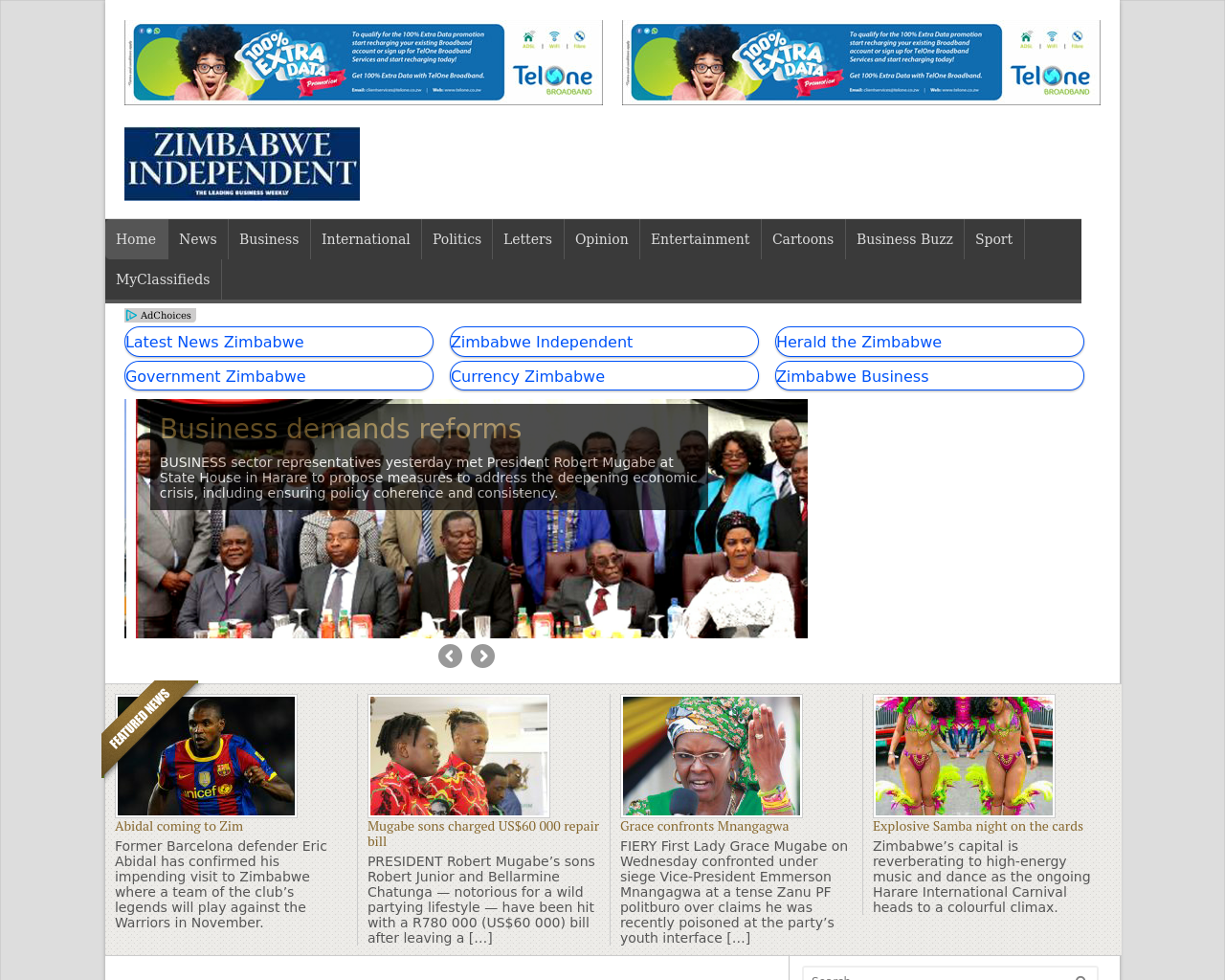 Zimbabwe-Independent-Advertising-Reviews-Pricing