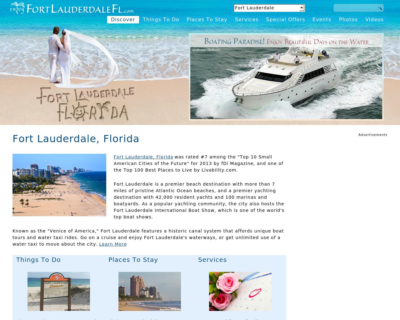 enjoyFortLauderdaleFL.com-Advertising-Reviews-Pricing