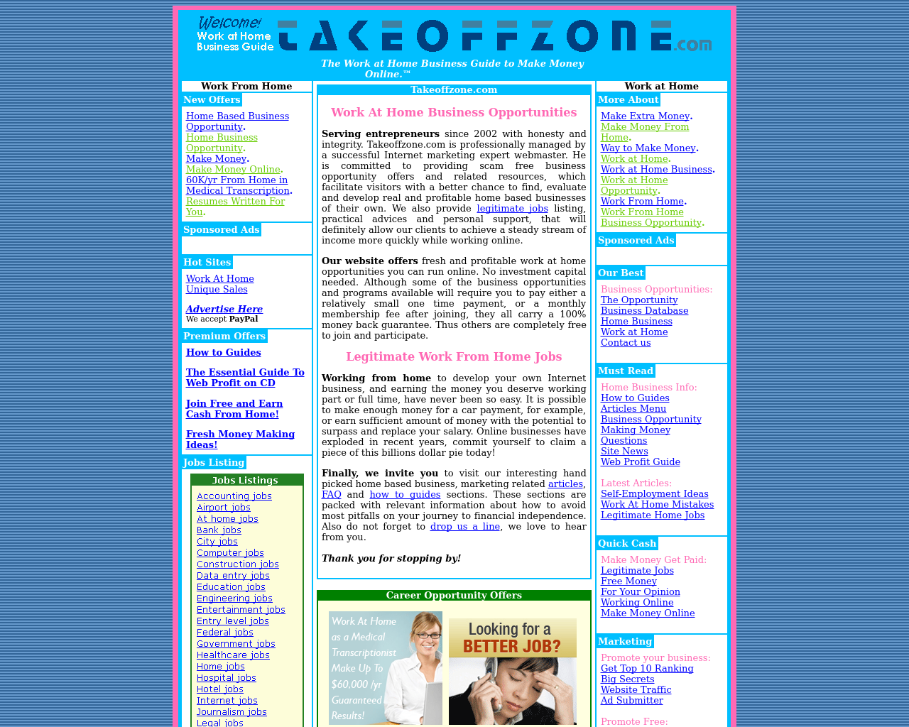 Takeoffzone.com-Advertising-Reviews-Pricing