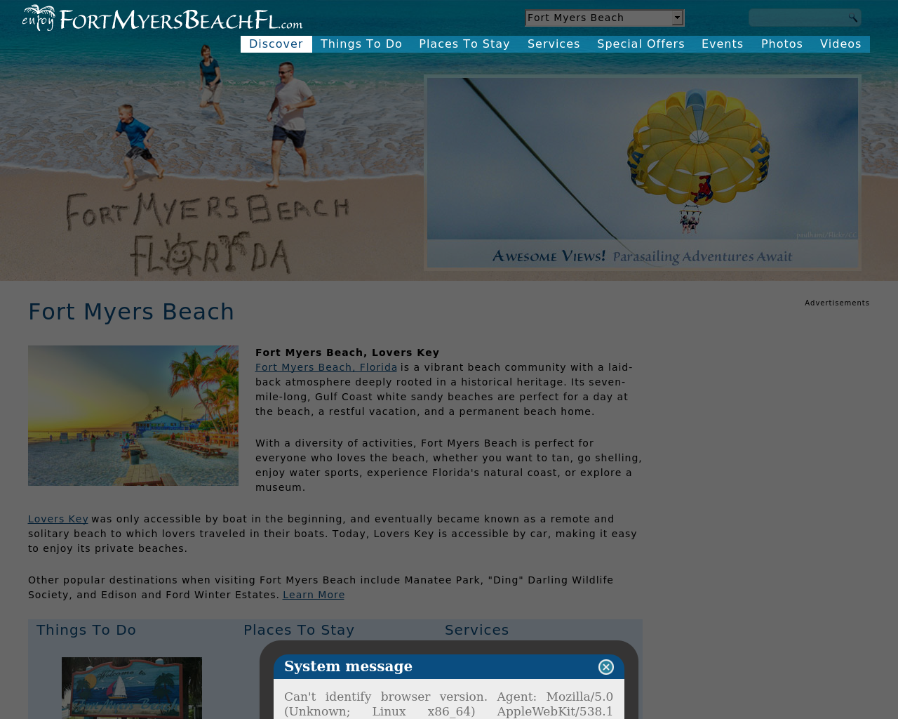 enjoyFortMyersBeachFL.com-Advertising-Reviews-Pricing