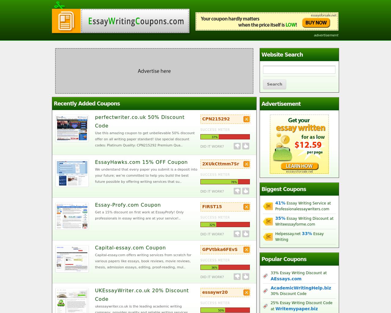 EssayWritingCoupons.com-Advertising-Reviews-Pricing