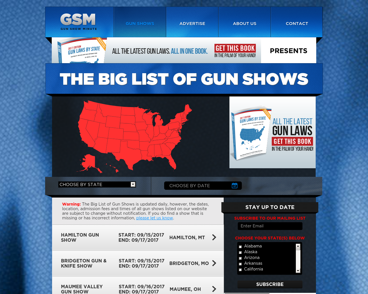 Gun-Show-Minute-Advertising-Reviews-Pricing