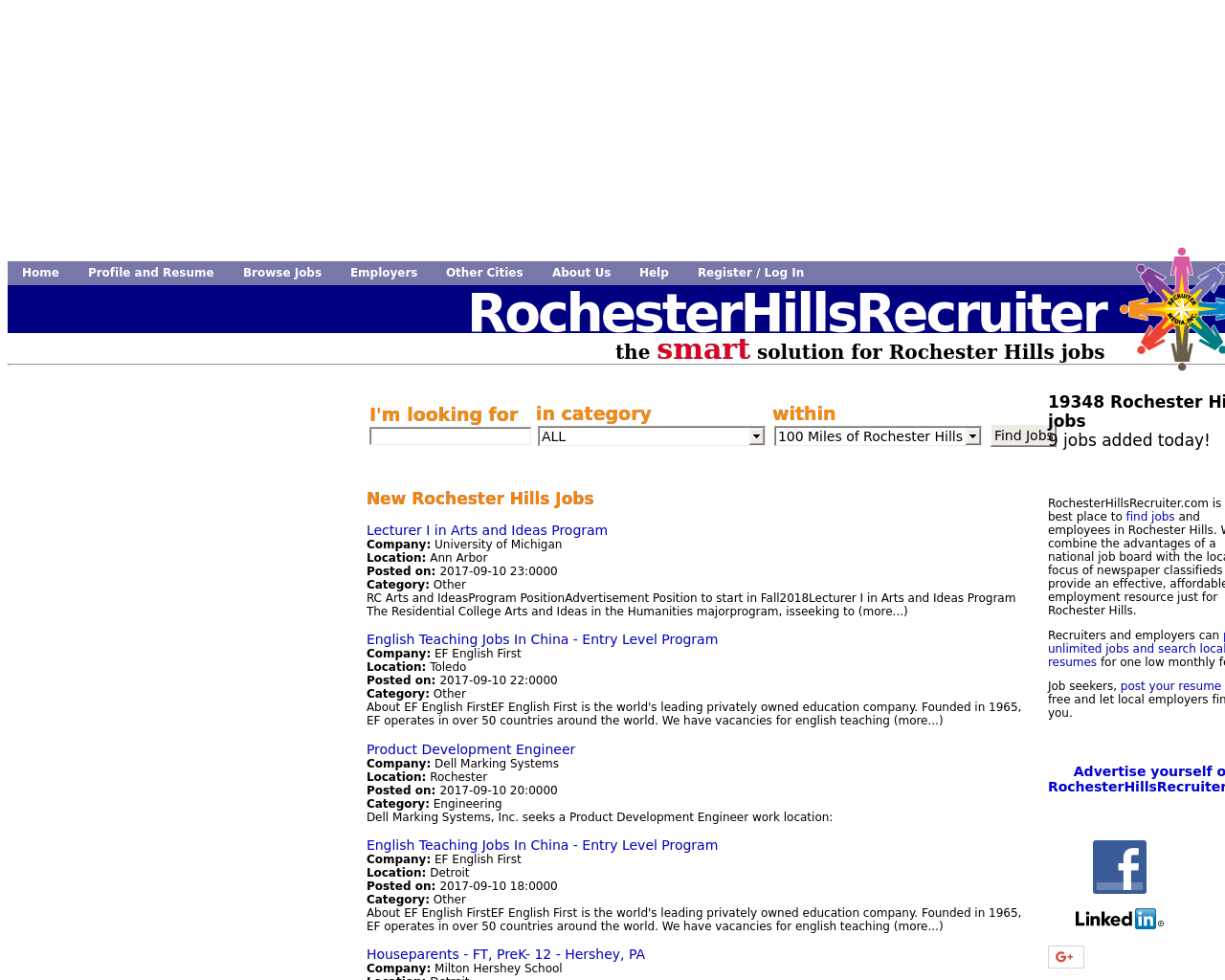 Rochester-Hills-Recruiter-Advertising-Reviews-Pricing