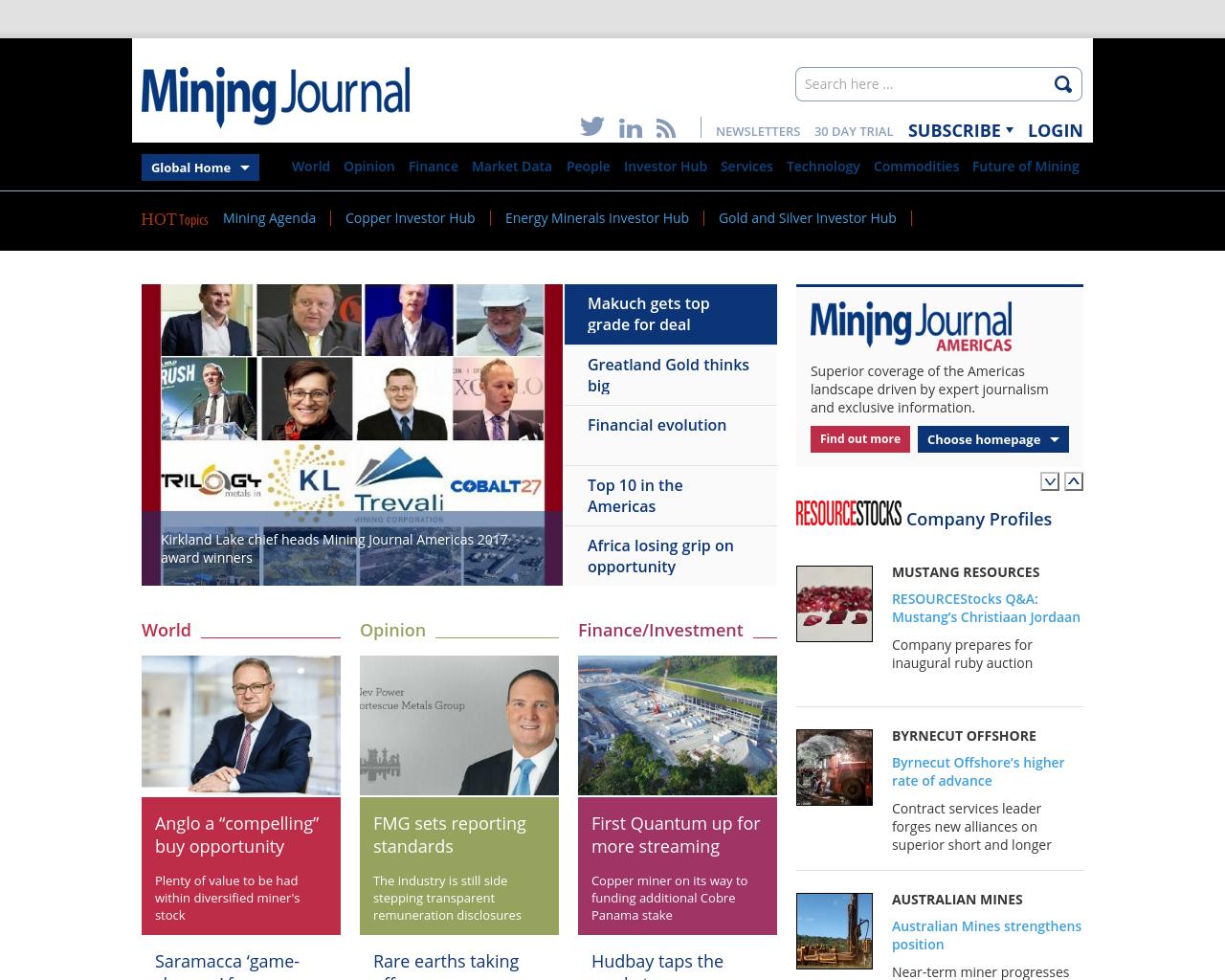 Mining-Journal-Advertising-Reviews-Pricing
