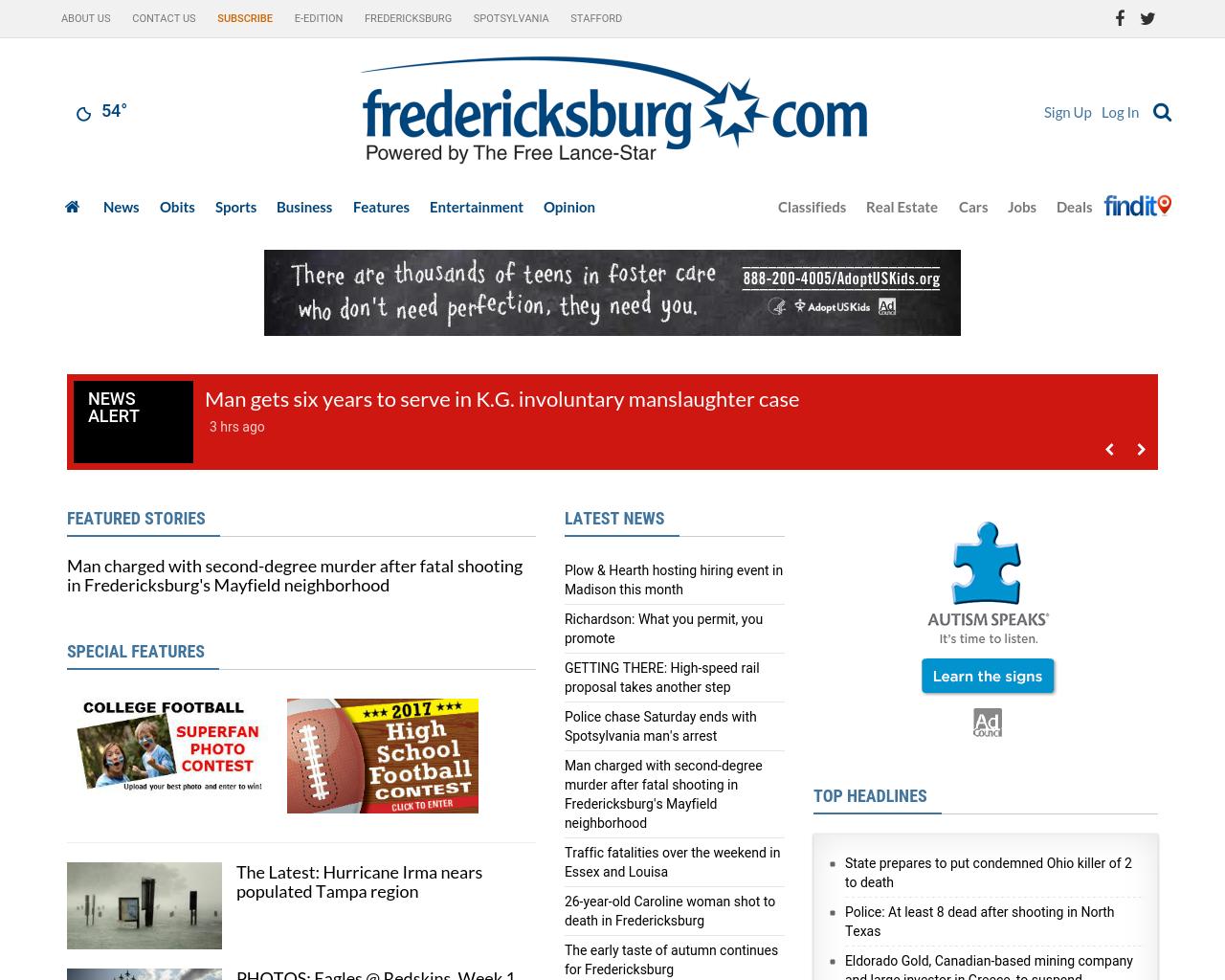 fredericksburg.com-Advertising-Reviews-Pricing