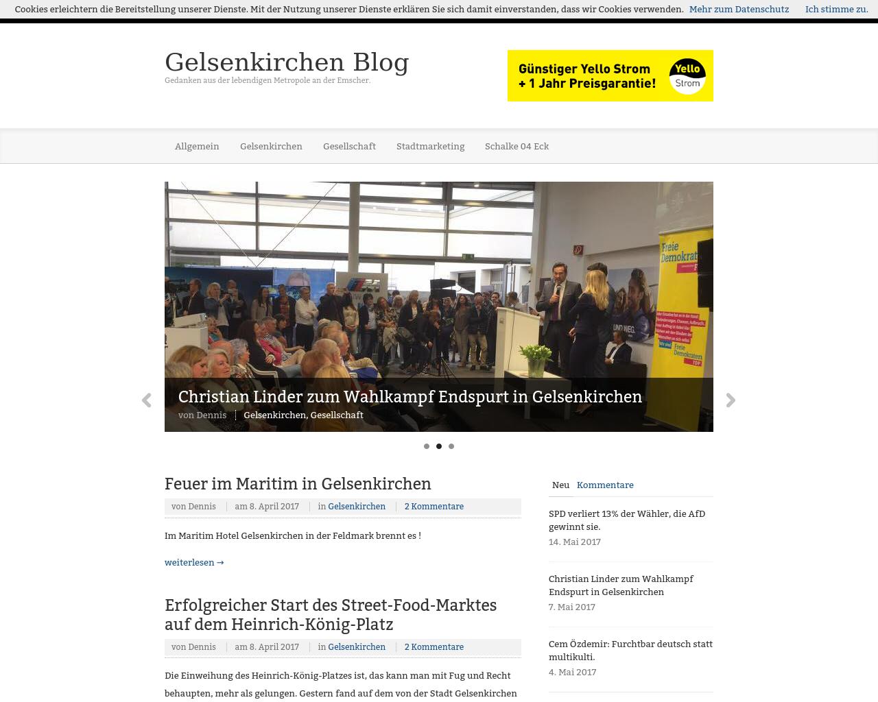 Gelsenkirchen-Blog-Advertising-Reviews-Pricing