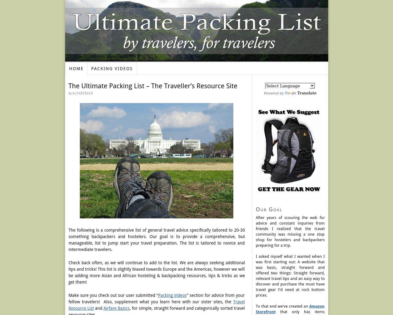 Ultimate-Packing-List-Advertising-Reviews-Pricing