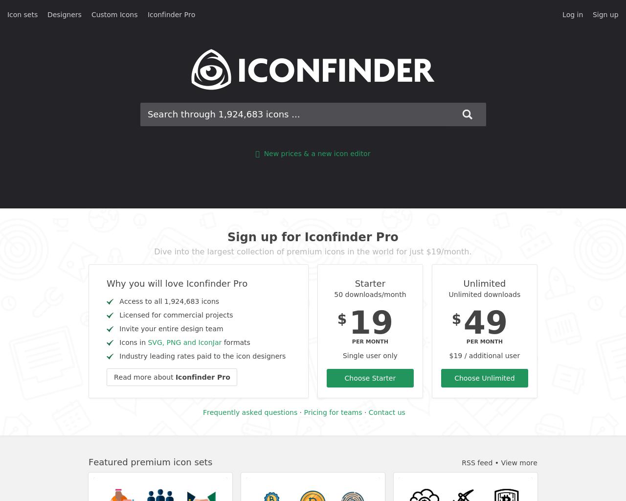 Iconfinder-Advertising-Reviews-Pricing