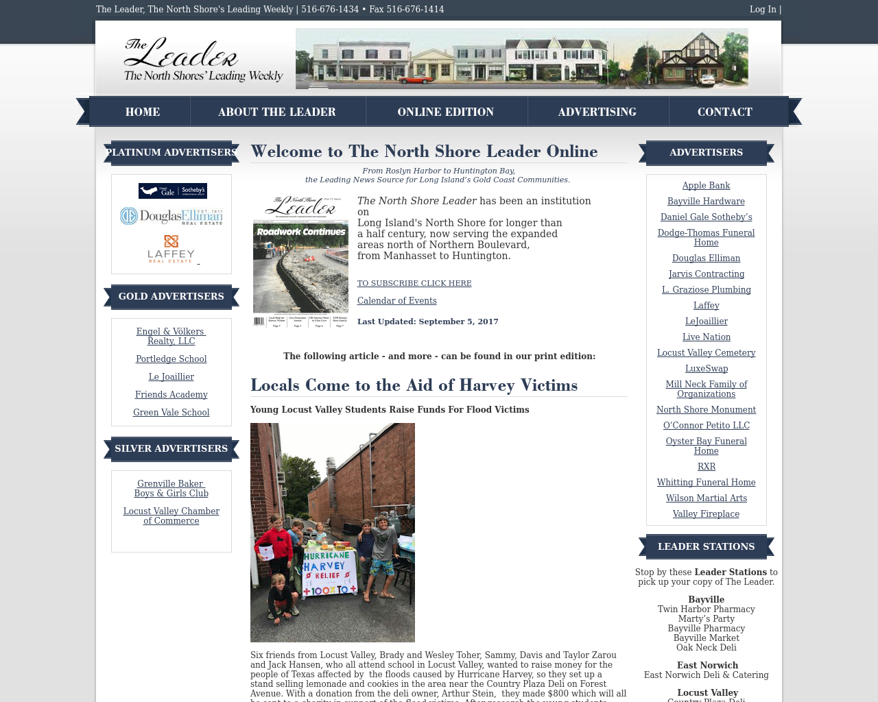 The-Leader-(The-North-Shores'-Leading-Weekly)-Advertising-Reviews-Pricing