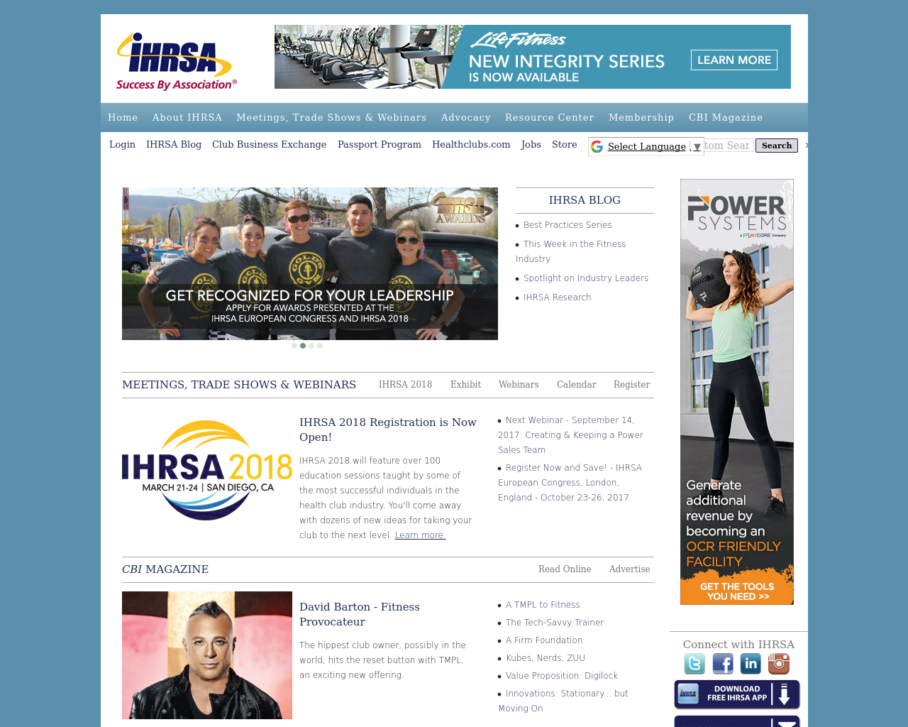 IHRSA-Success-By-Association-Advertising-Reviews-Pricing
