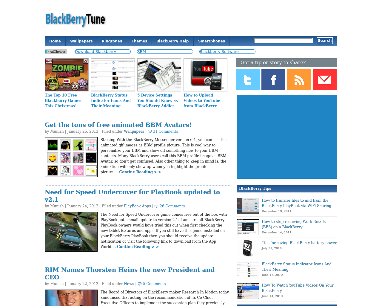 BlackBerryTune.com-Advertising-Reviews-Pricing