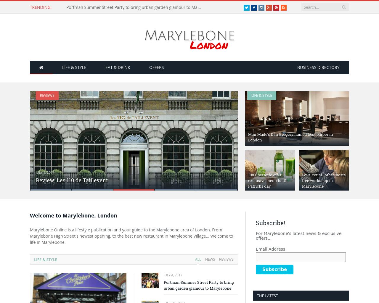 MARYLEBONE-London-Advertising-Reviews-Pricing