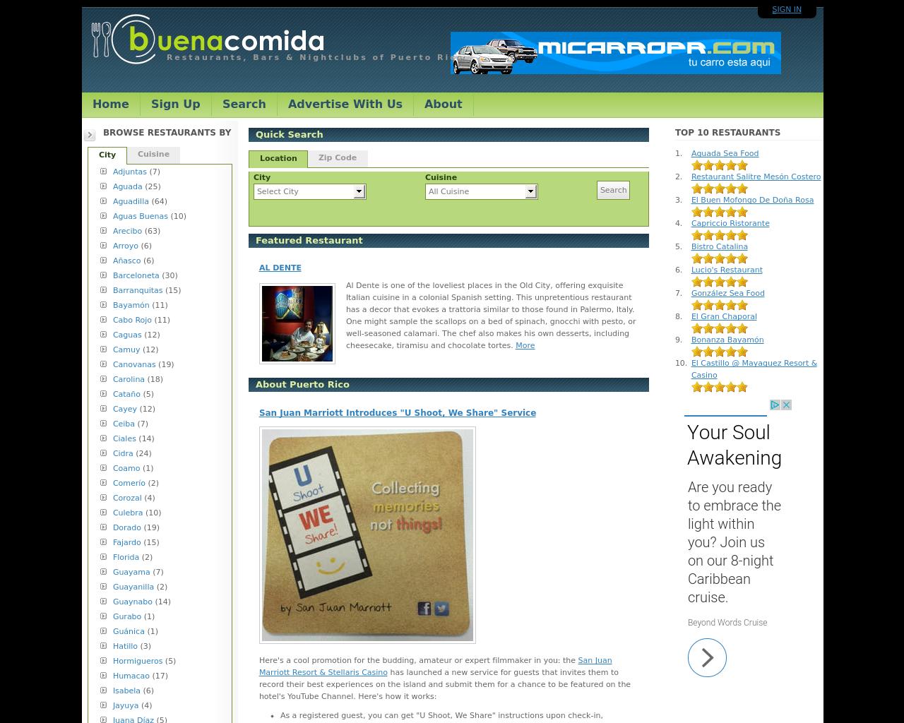 BuenaComidaPR.com-Advertising-Reviews-Pricing