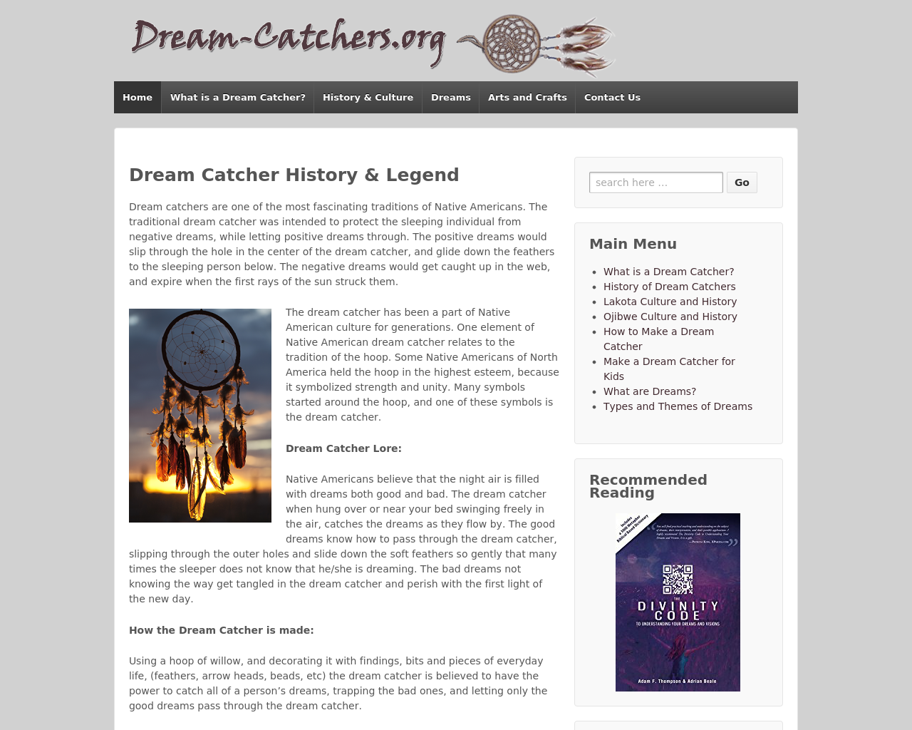 Dream-Catchers.org-Advertising-Reviews-Pricing