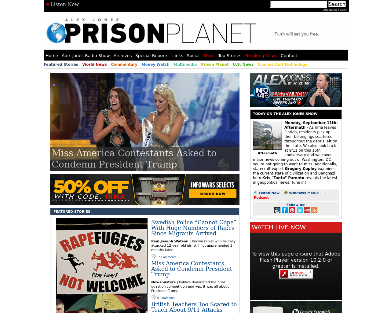 Prison-Planet-Advertising-Reviews-Pricing