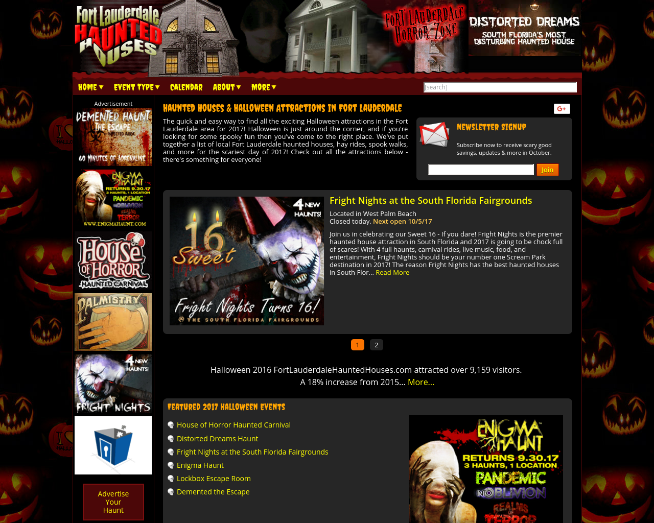 Fort-Lauderdale-Haunted-Houses-Advertising-Reviews-Pricing