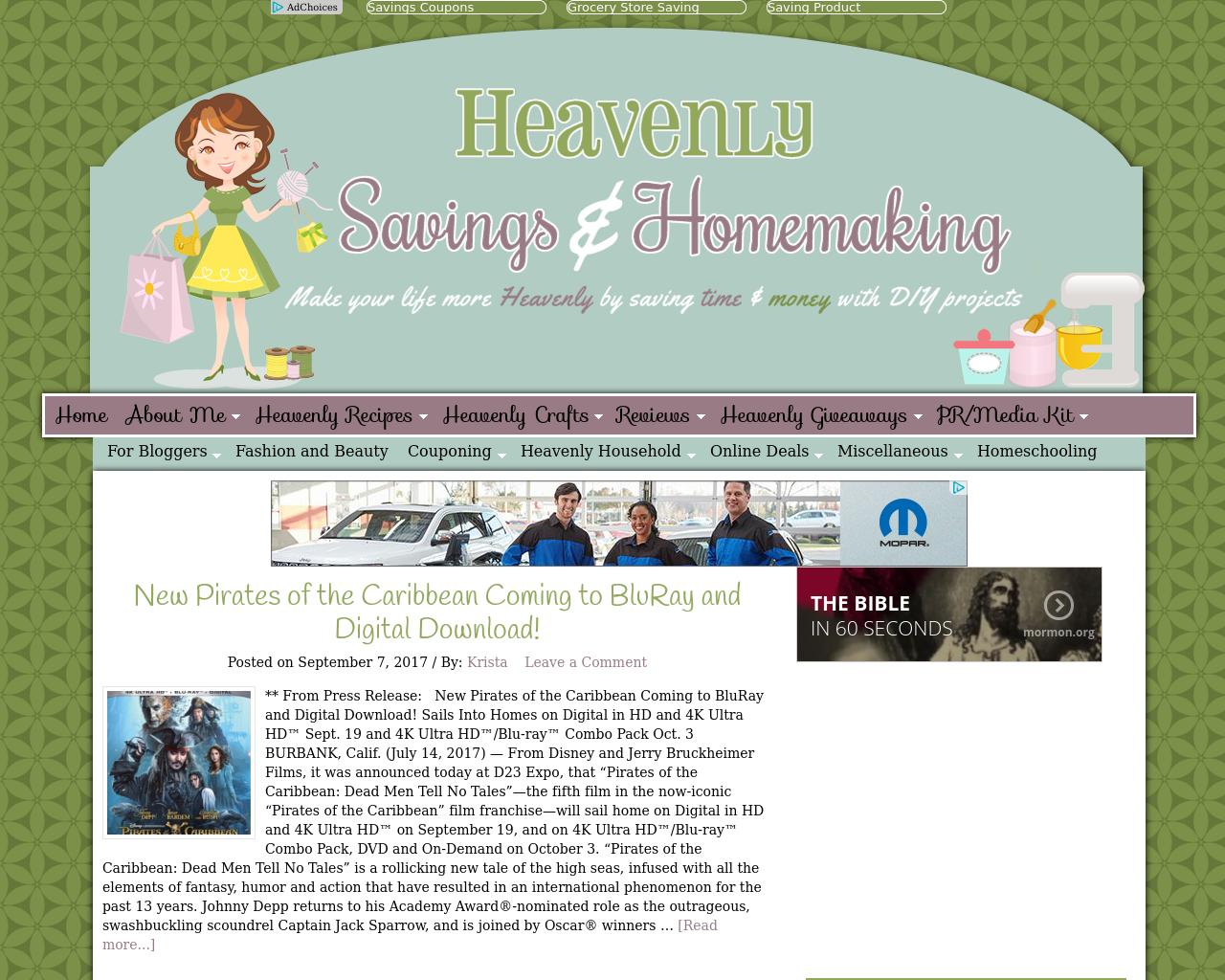 Heavenly-Savings-&-Homemaking-Advertising-Reviews-Pricing