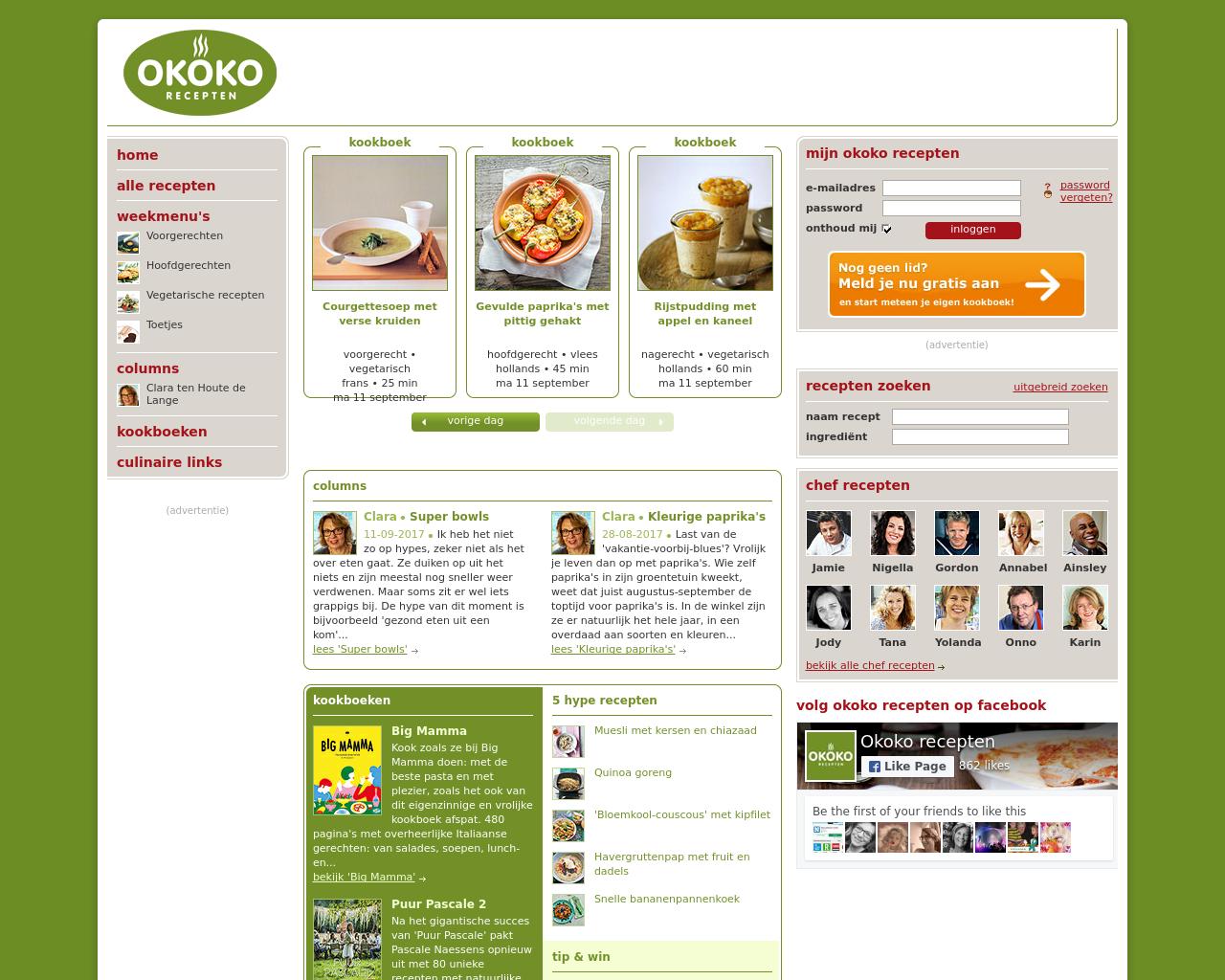 Okoko-Recepten-Advertising-Reviews-Pricing