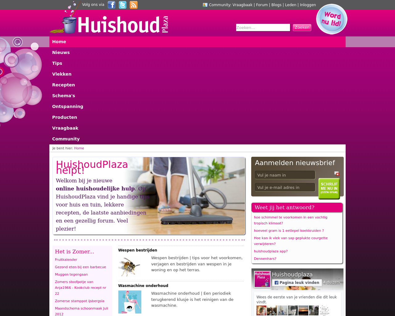 Huishoud-Plaza-(Household-Plaza)-Advertising-Reviews-Pricing