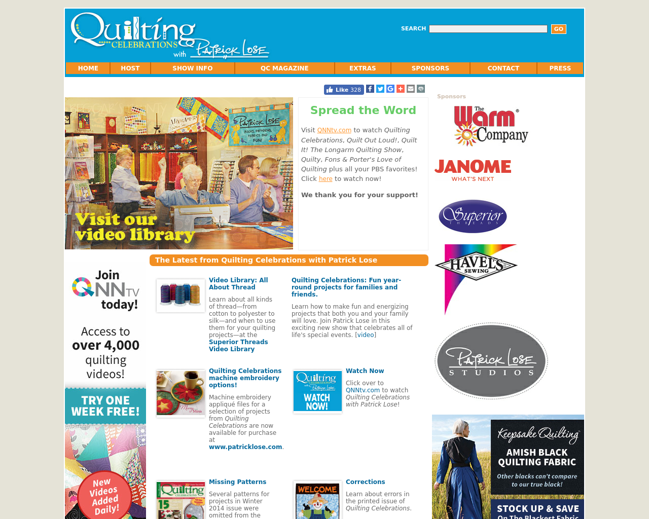 Quilting-Celebrations-With-Patrick-Lose-Advertising-Reviews-Pricing