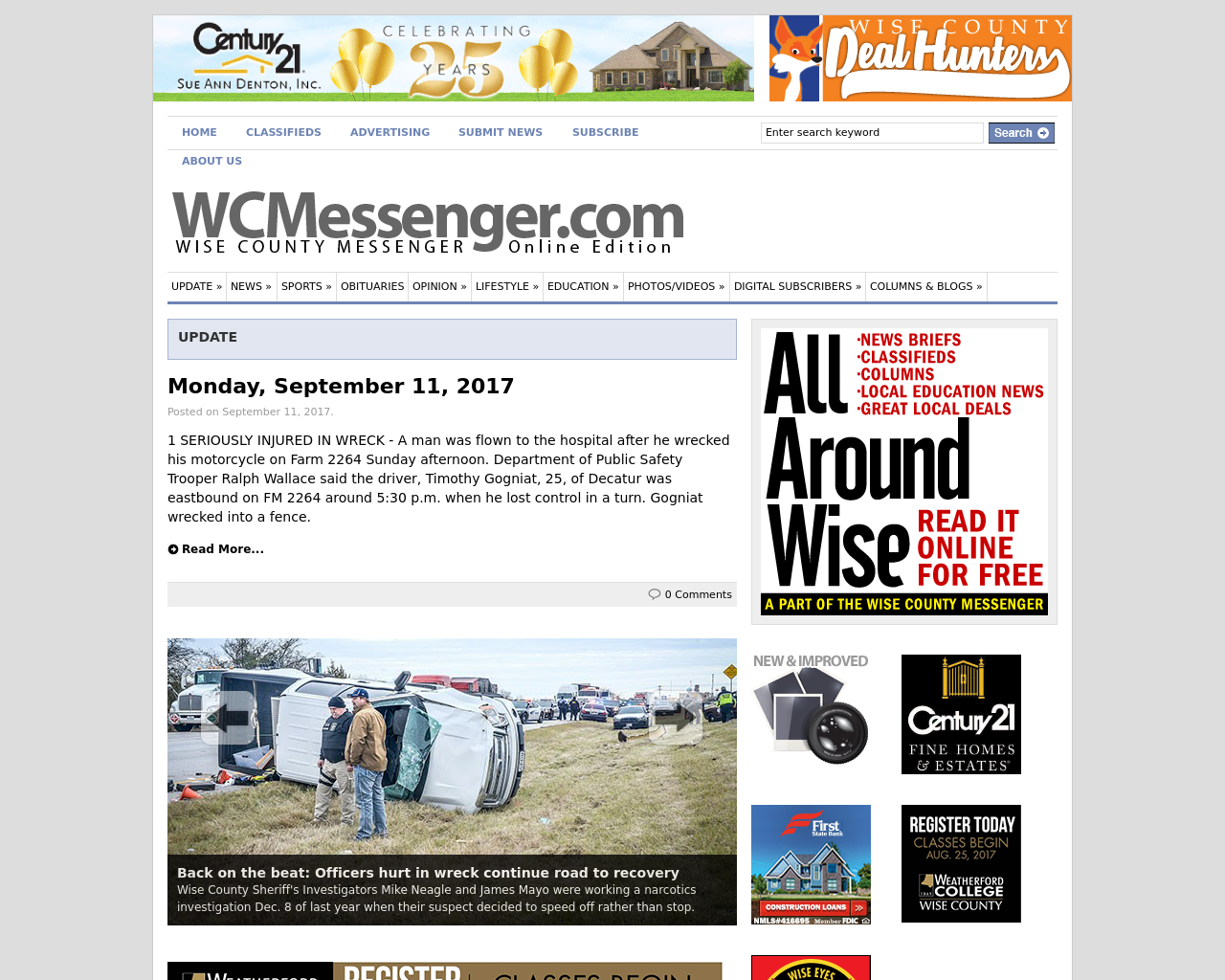 wise county on the web