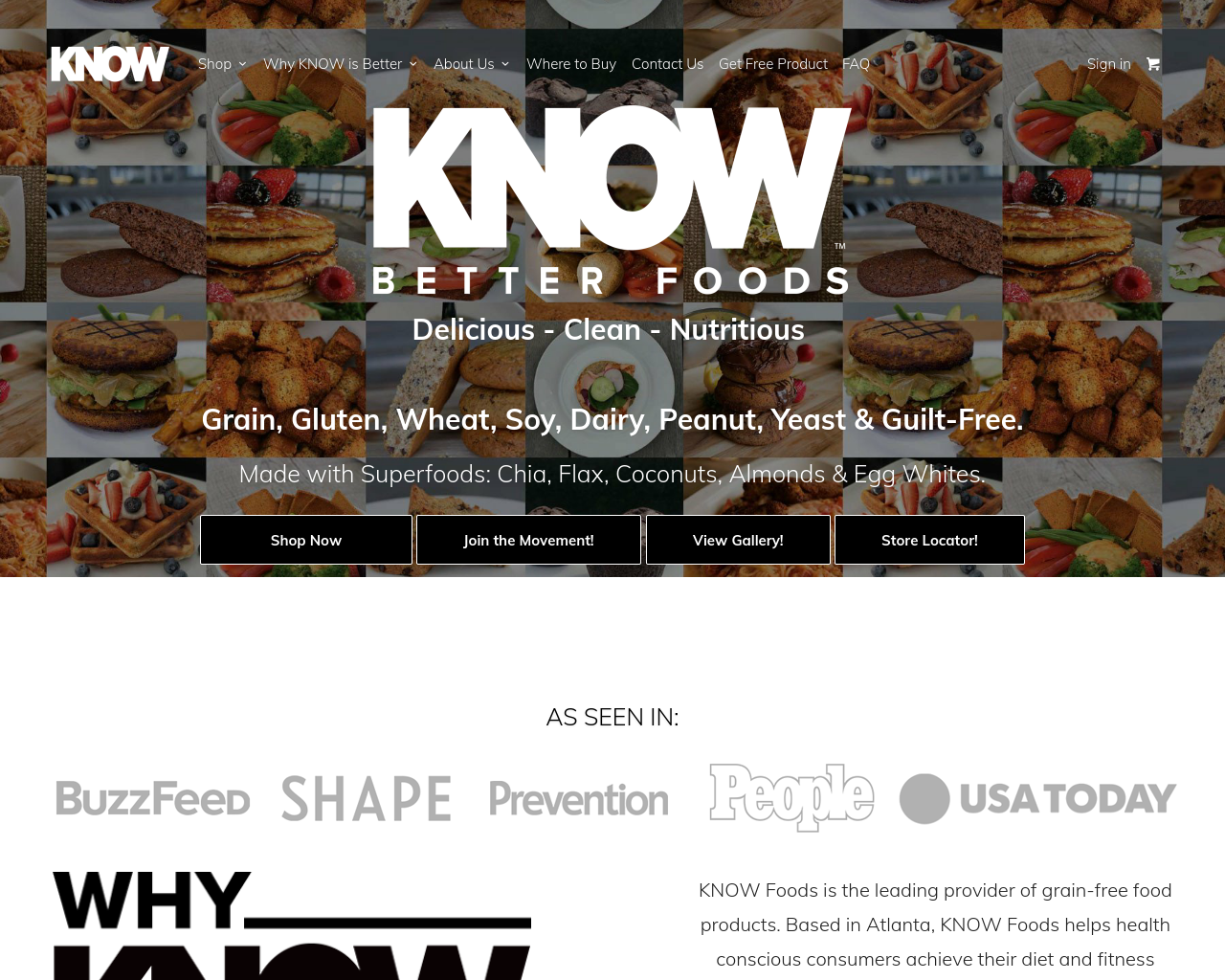 KNOW-FOODS-Advertising-Reviews-Pricing