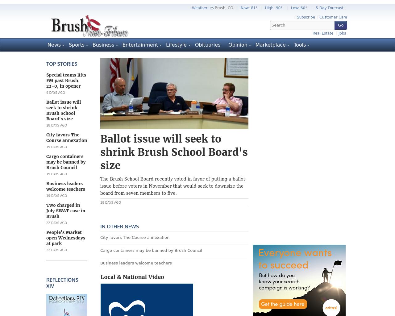 Brush-News-Tribune-Advertising-Reviews-Pricing