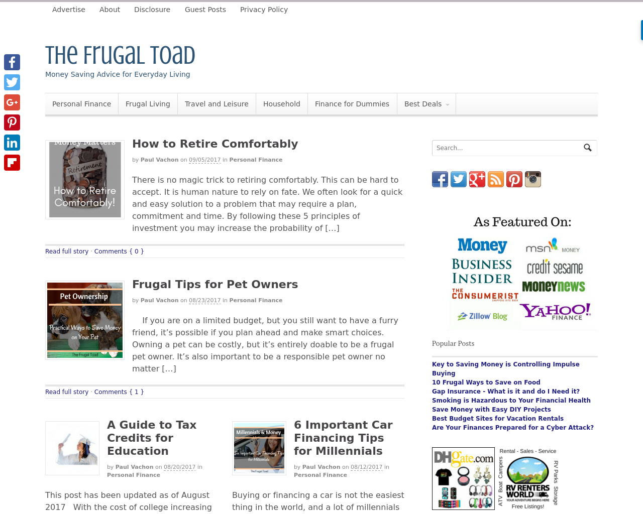 The-Frugal-Toad-Advertising-Reviews-Pricing