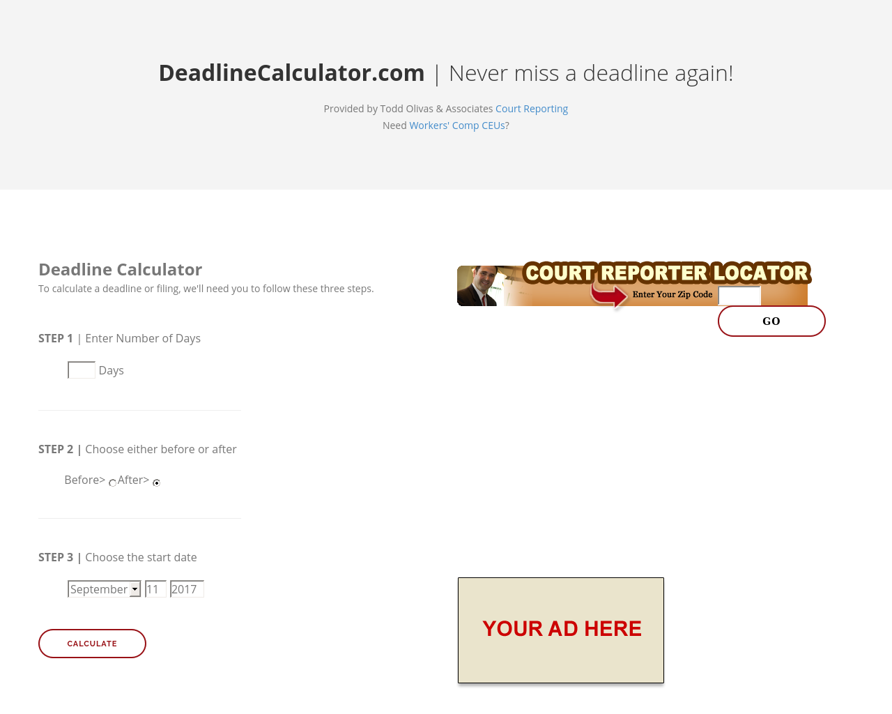 DeadlineCalculator.com-Advertising-Reviews-Pricing