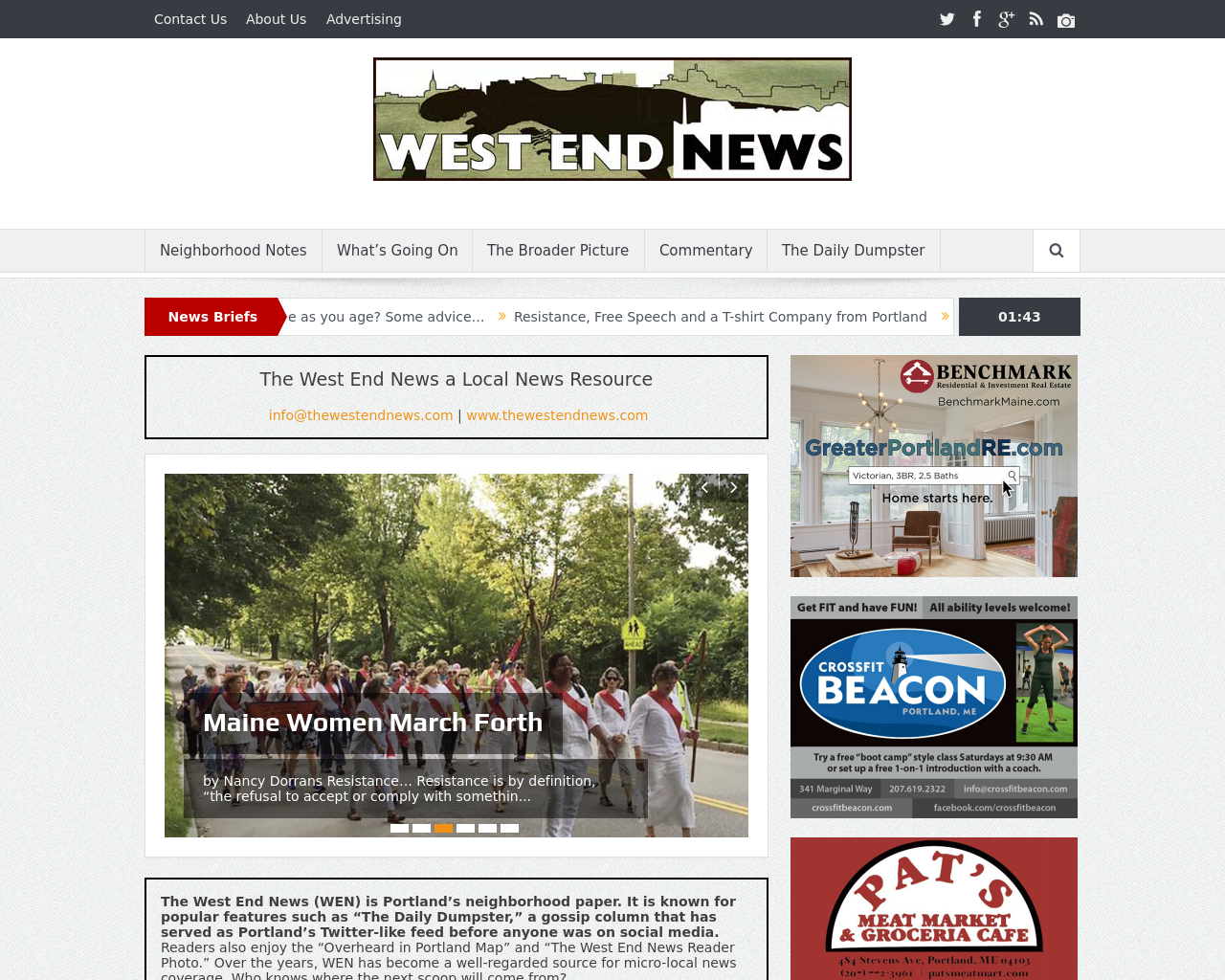 West-End-News-Advertising-Reviews-Pricing