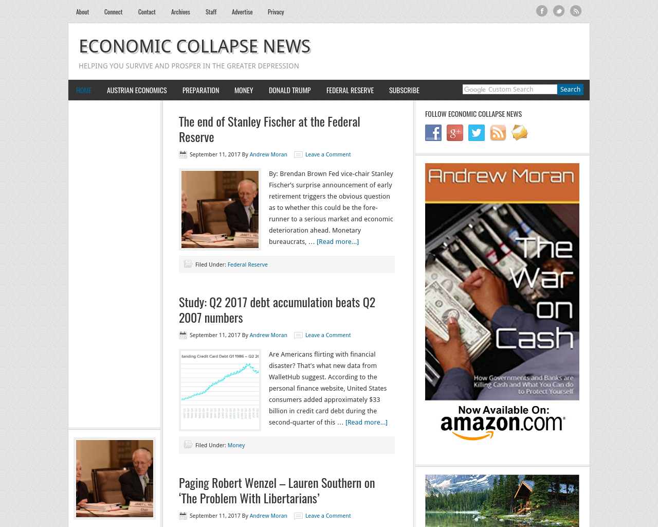EconomicCollapse-News-Advertising-Reviews-Pricing