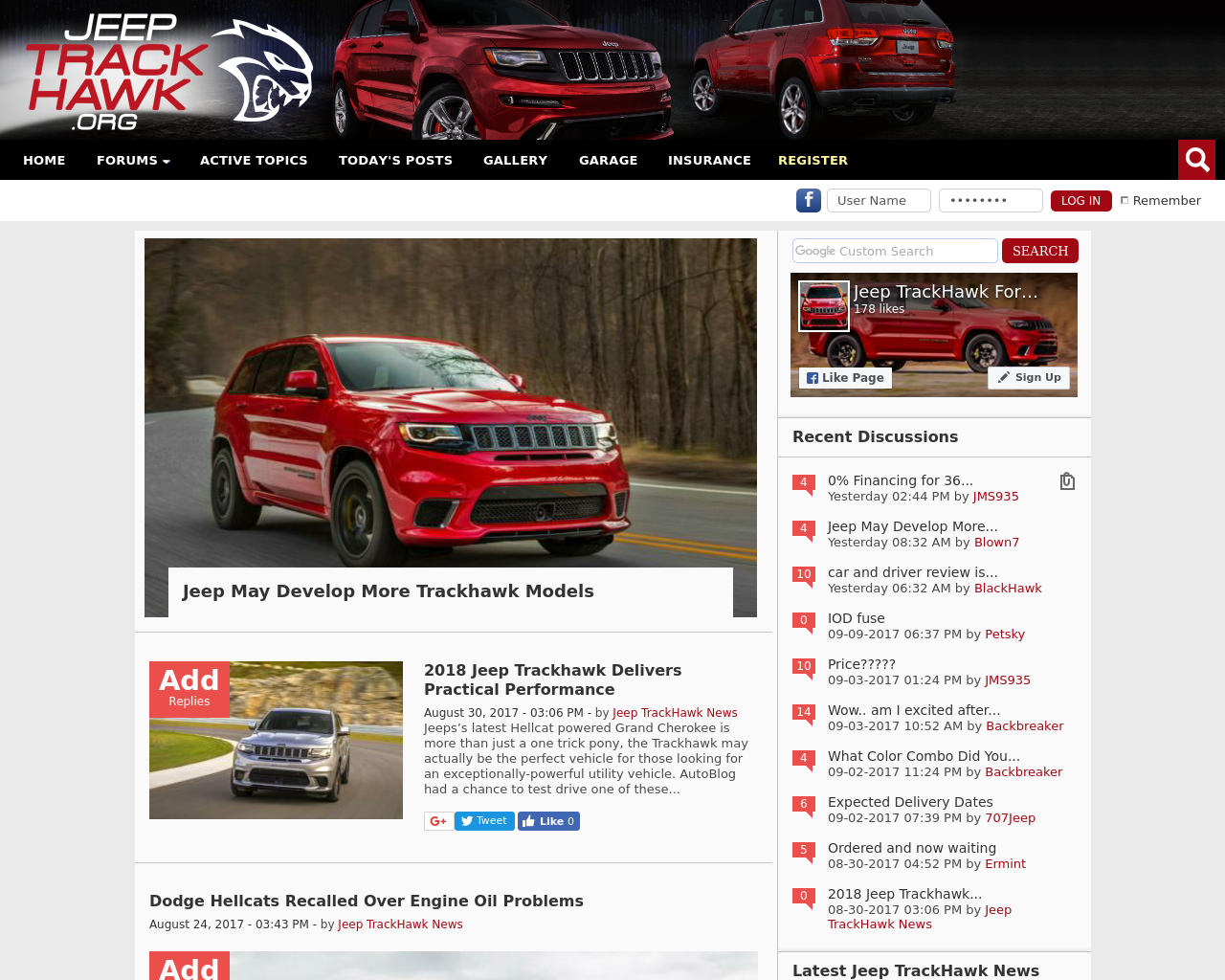 Jeep-TrackHawk-Forum-Advertising-Reviews-Pricing
