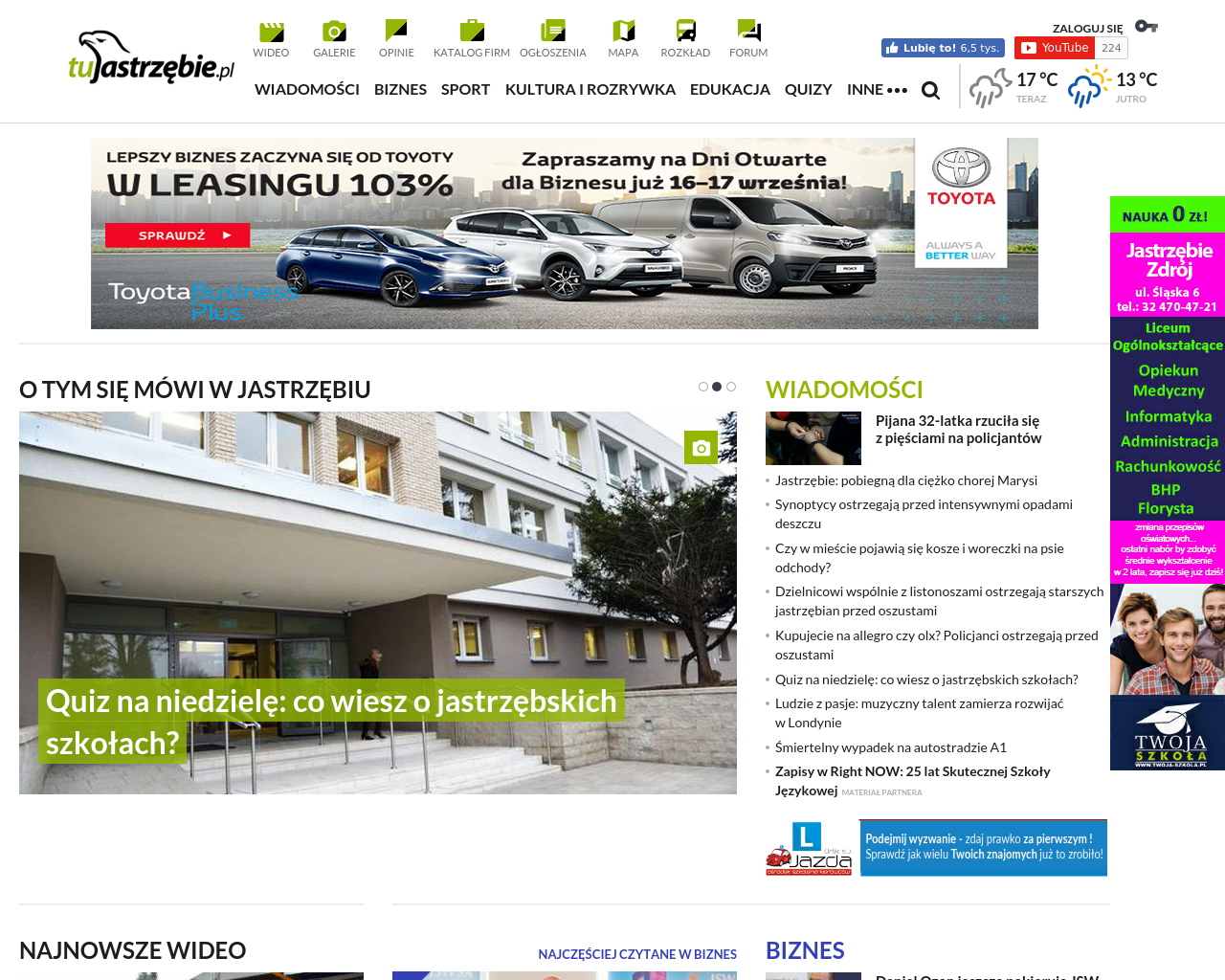 Tujastrzebie.pl-Advertising-Reviews-Pricing