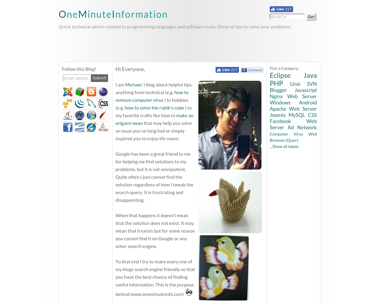 One-Minute-Information-Advertising-Reviews-Pricing