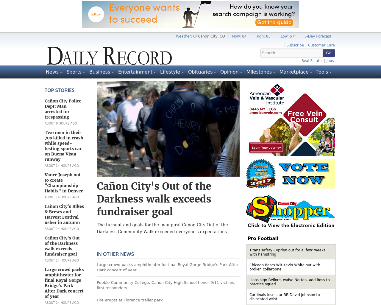 The-Cañon-City-Daily-Record-Advertising-Reviews-Pricing