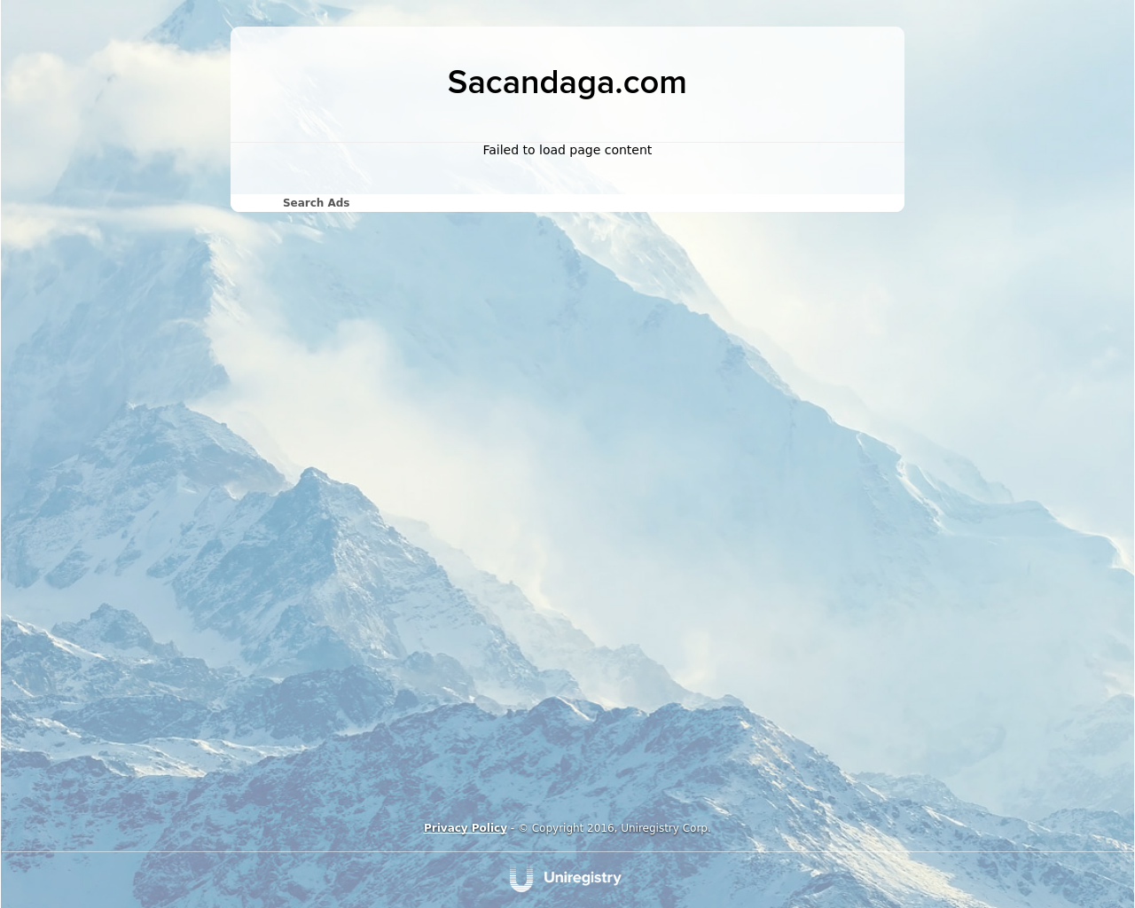 Sacandaga.com-Advertising-Reviews-Pricing
