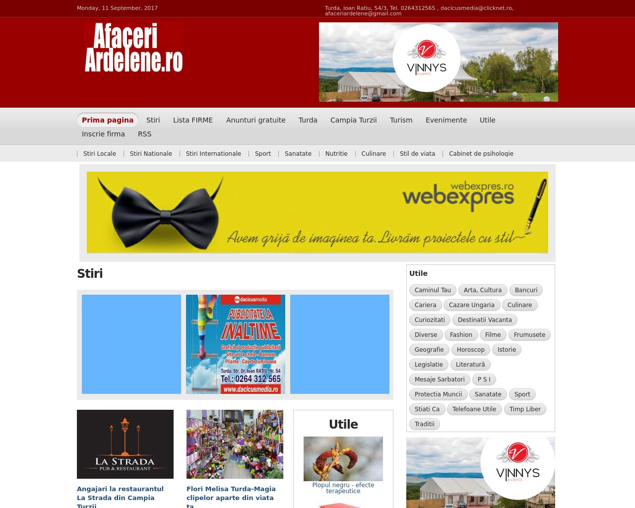 AfaceriArdelene.ro-Advertising-Reviews-Pricing