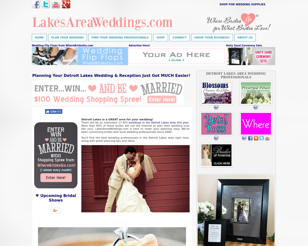 LakesAreaWeddings.com-Advertising-Reviews-Pricing