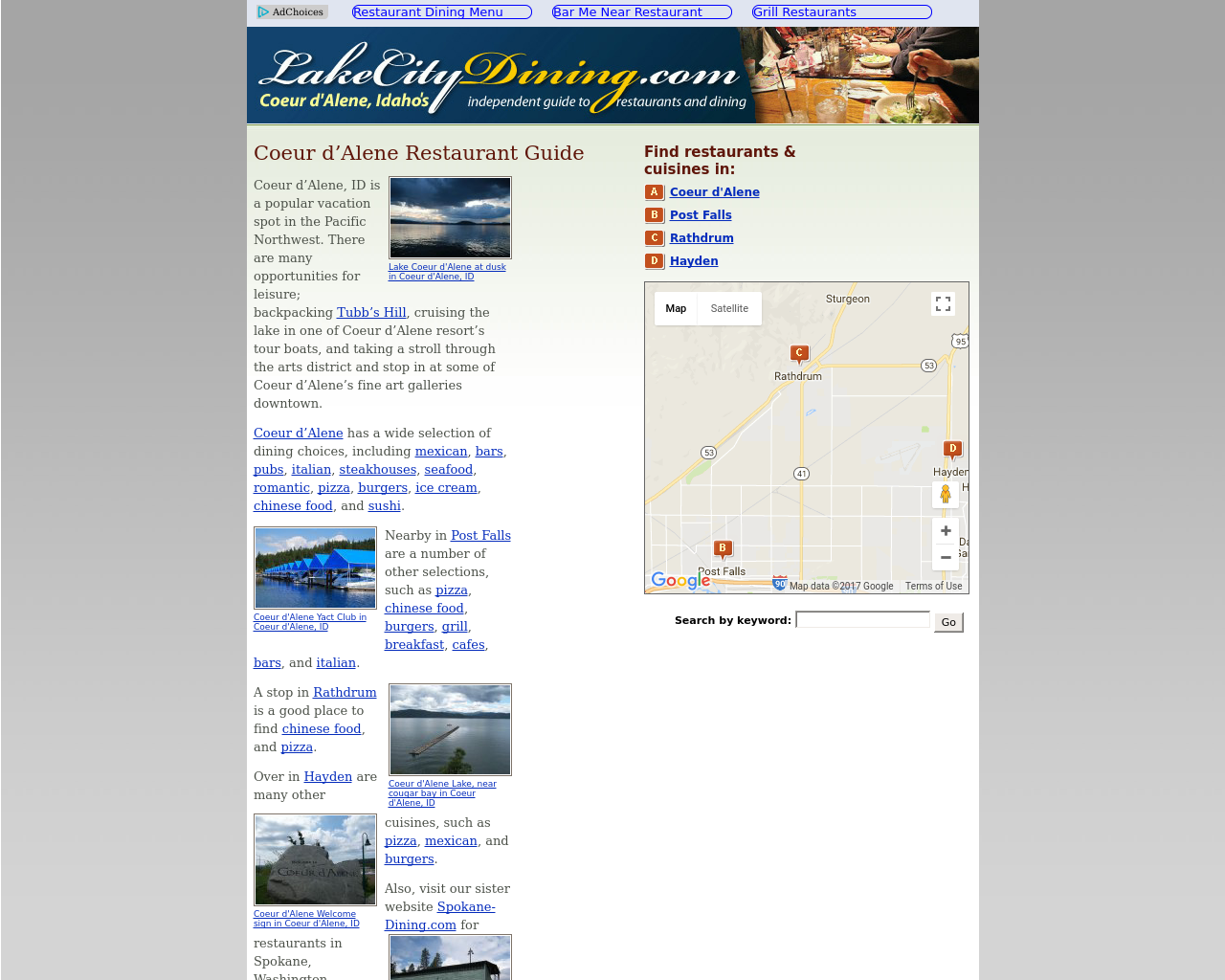 LakeCityDining.com-Advertising-Reviews-Pricing