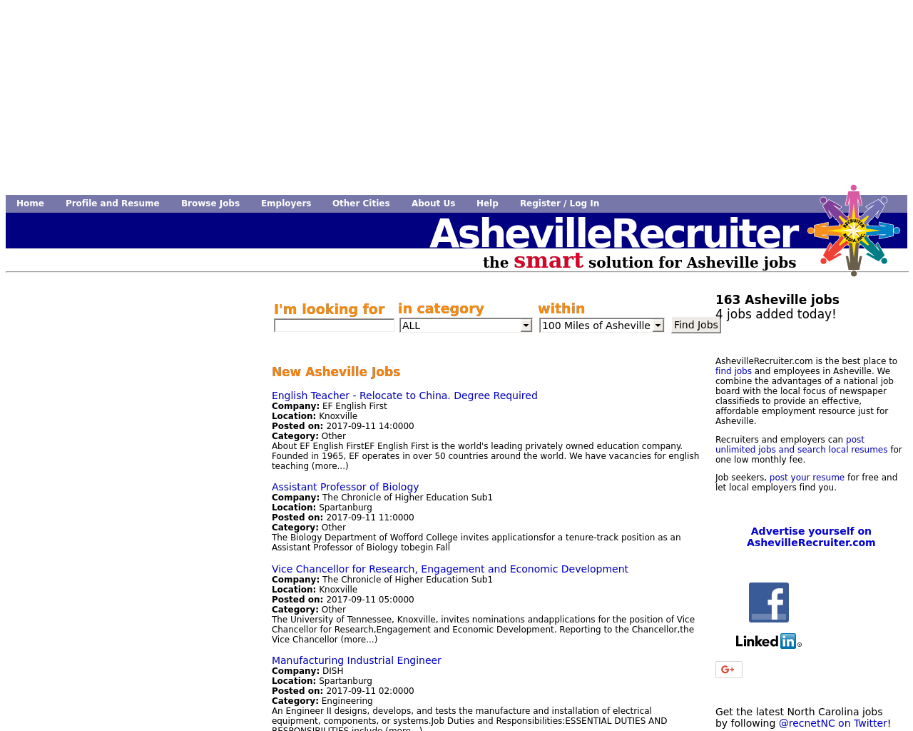 AshevilleRecruiter.com-Advertising-Reviews-Pricing